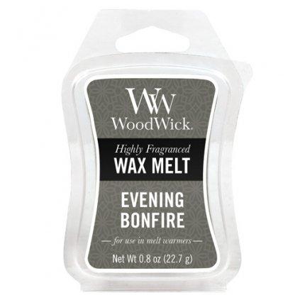 WoodWick - vonný vosk Evening Bonfire (Večer u táboráku) 23g