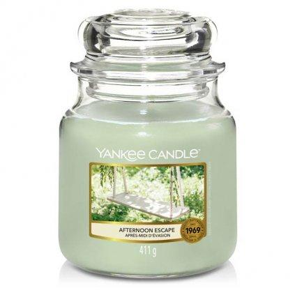 Yankee Candle - vonná svíčka Afternoon Escape (Odpolední únik) 411g