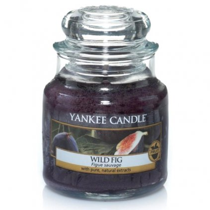 Yankee Candle - vonná svíčka Wild Fig (Divoké fíky) 104g