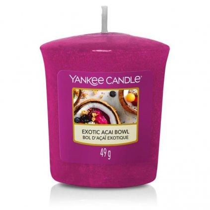 Yankee Candle - votivní svíčka Exotic Acai Bowl (Miska exotických chutí) 49g