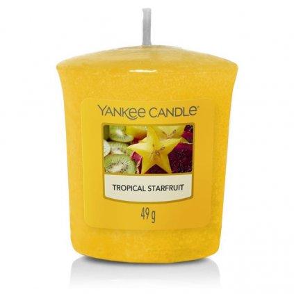 Yankee Candle - votivní svíčka Tropical Starfruit (Tropická karambola) 49g
