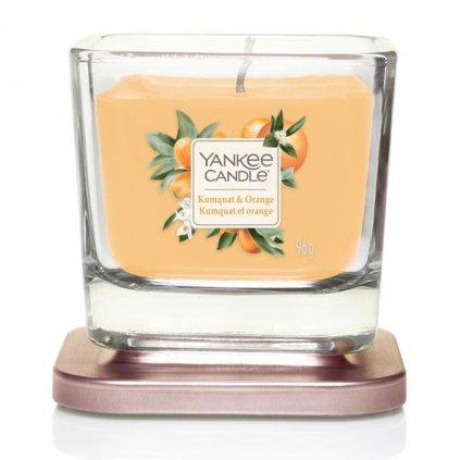 Yankee Candle Elevation - vonná svíčka Kumquat & Orange (Kumquat a pomeranč) 96g
