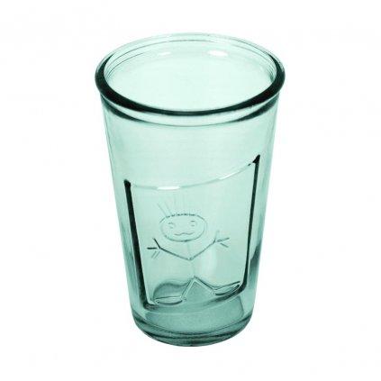 sklenice recyklovana cira 1 kluk