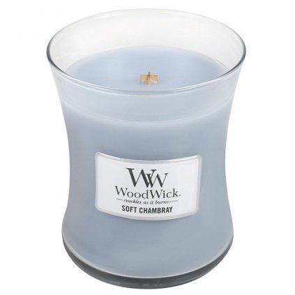 WoodWick - vonná svíčka Čisté prádlo 275g