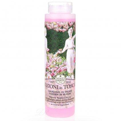 Nesti Dante - přírodní sprchový gel 2v1 Emozioni in Toscana, Rozkvetlá zahrada 300 ml