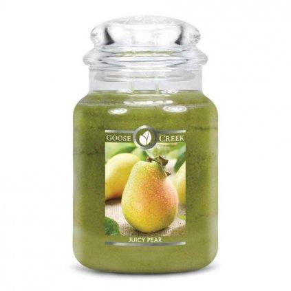 goose creek Juicy Pear svicka 680 g