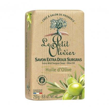 Le Petit Olivier - extra jemné mýdlo Olivový olej 250g