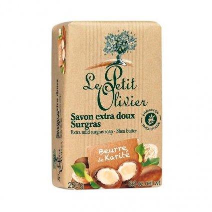 Le Petit Olivier - extra jemné mýdlo Bambucké máslo 250g