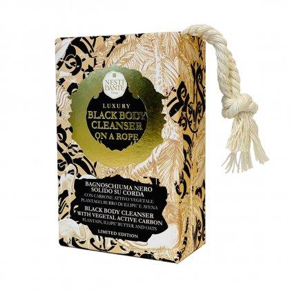 nesti dante black soap mydlo na provazku 4