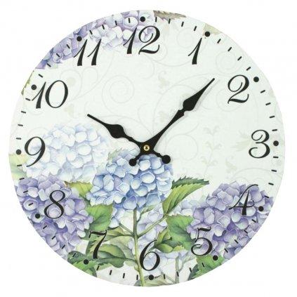 hodiny hortenzie