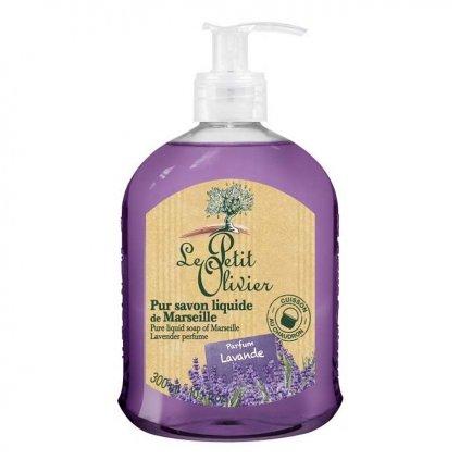 Le Petit Olivier - přírodní tekuté mýdlo Levandule 300 ml