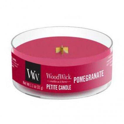 woodwick pomegranate petite svicka