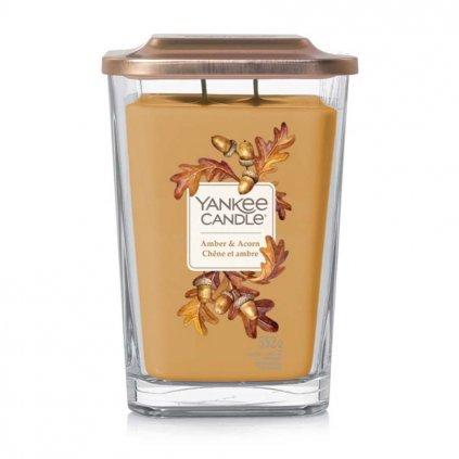 yankee candle amber acorn svicka velka