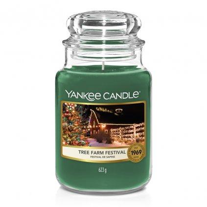 yankee candle tree farm festival svicka velka 1