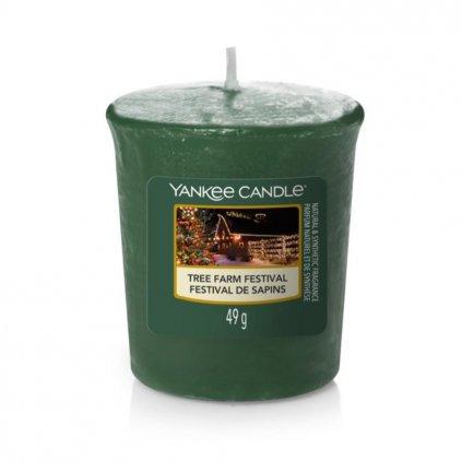 yankee candle tree farm festival votivni svicka