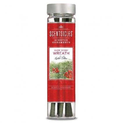 ScentSicles - vůně na stromeček Snow Berry Wreath, 6 ks