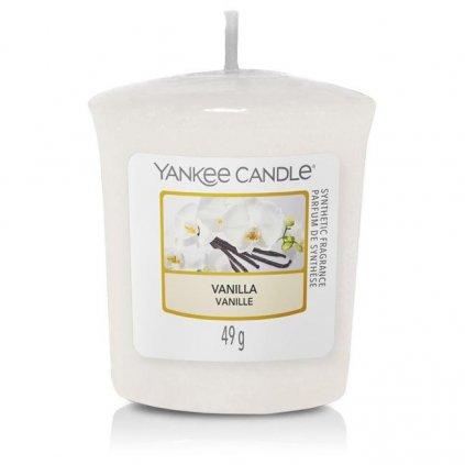 Yankee Candle - votivní svíčka Vanilla 49g