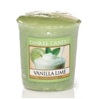 Yankee Candle - votivní svíčka Vanilla Lime 49g