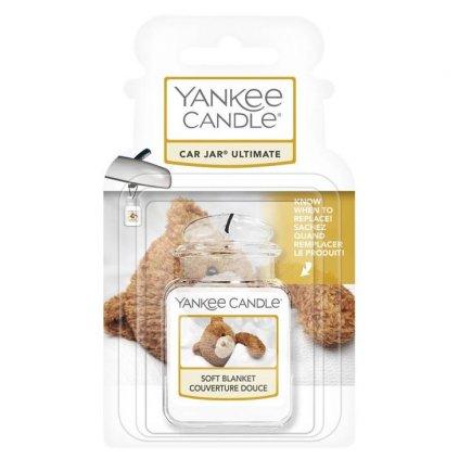 Yankee Candle - gelová visačka do auta Soft Blanket 1 ks