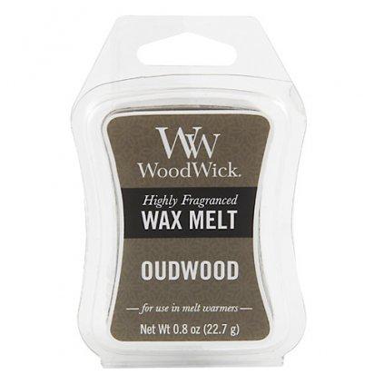 WoodWick vonný vosk Oudwood (Pryskyřice) 23g