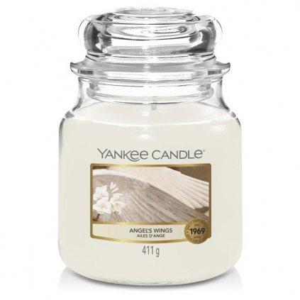 Yankee Candle - vonná svíčka Angel's Wings (Andělská křídla) 411g