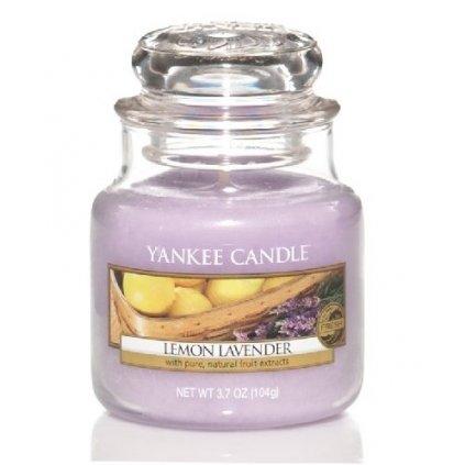 Yankee Candle - vonná svíčka Lemon Lavender 104g