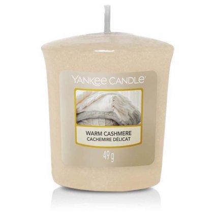 Yankee Candle - votivní svíčka Warm Cashmere (Hřejivý kašmír) 49g