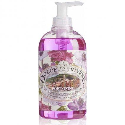 Nesti Dante - přírodní tekuté mýdlo Portofino 500 ml