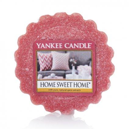 Yankee Candle - vonný vosk Home Sweet Home (Ó sladký domove) 22g