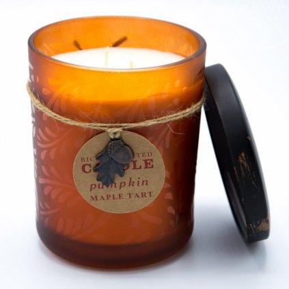 Le Herisson - vonná svíčka Pumpkin Maple Tart 480g