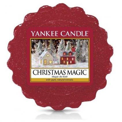 Yankee Candle - vonný vosk Christmas Magic (Vánoční kouzlo) 22g