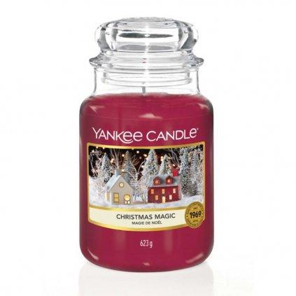 Yankee Candle - vonná svíčka Christmas Magic (Vánoční kouzlo) 623g