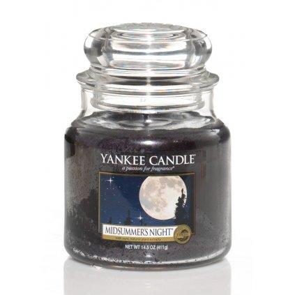 Yankee Candle - vonná svíčka Midsummers Night 411g