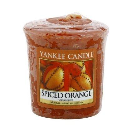 Yankee Candle - votivní svíčka Spiced Orange 49g