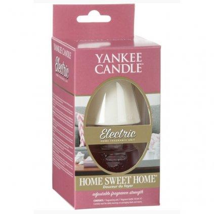 Yankee Candle - elektrický difuzér do zásuvky ELECTRIC, vůně Home Sweet Home