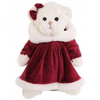 Bukowski - plyšový medvídek Little Teresa Burgundy, 25 cm