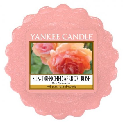 Yankee Candle - vonný vosk Sun-Drenched Apricot Rose 22g