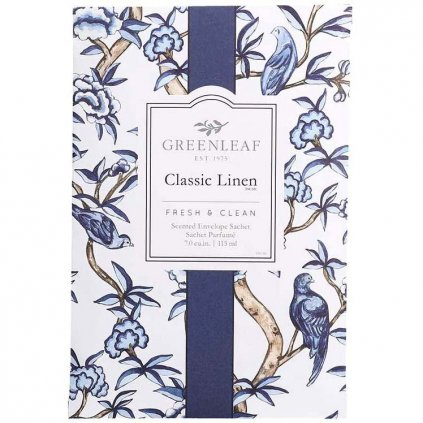 Greenleaf - vonný sáček Classic Linen 115 ml