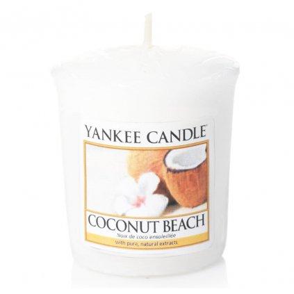 Yankee Candle - votivní svíčka Coconut Beach 49g