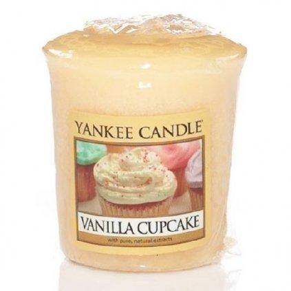 Yankee Candle - votivní svíčka Vanilla Cupcake (Vanilkový košíček) 49g