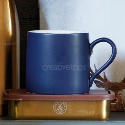 Earlstree & Co - keramický hrnek modrý 350 ml