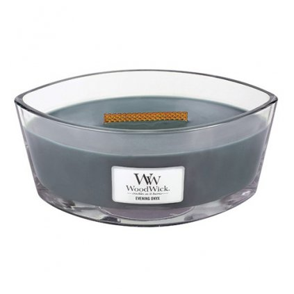 WoodWick - vonná svíčka Evening Onyx (Večerní onyx) 453g