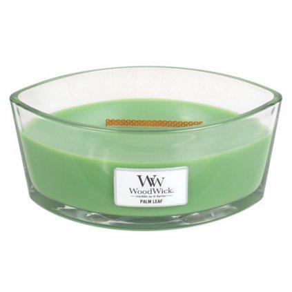 WoodWick - vonná svíčka Palm Leaf (Palmový list) 453g