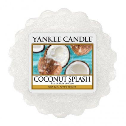 Yankee Candle - vonný vosk Coconut Splash (Kokosové osvěžení) 22g