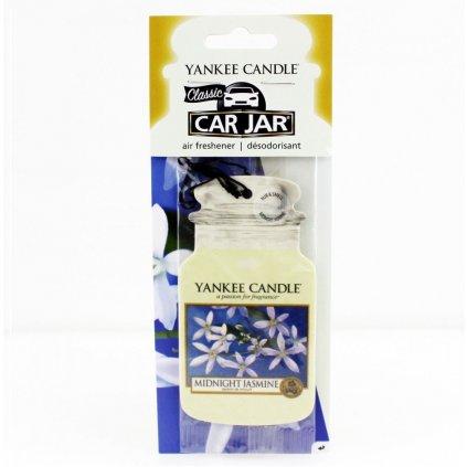 Yankee Candle - papírová visačka do auta Midnight Jasmine 1 ks