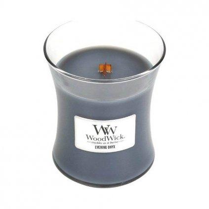 WoodWick - vonná svíčka Evening Onyx (Večerní onyx) 275g