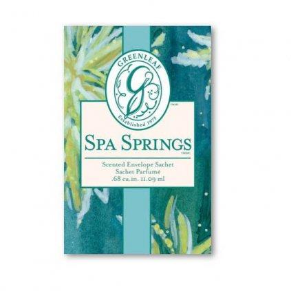 Greenleaf - vonný sáček malý Spa Springs 11ml
