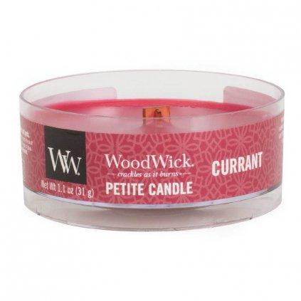 WoodWick - vonná svíčka Petite, Rybíz 31g