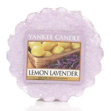 Yankee Candle - vonný vosk Lemon Lavender 22g