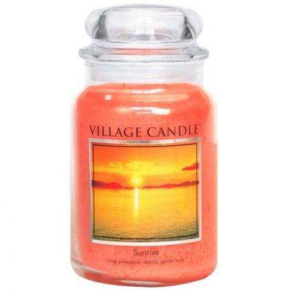 Village Candle - vonná svíčka Sunrise (Východ slunce) 737g